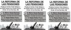 Charla sobre Pensiones en Málaga