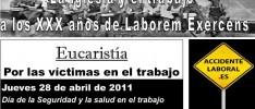 28 de Abril, Día de la Salud Laboral: Eucaristía en Valladolid