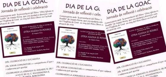 """Barcelona, 14 de mayo: """"Otra Iglesia es posible"""""""