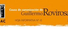 """Hoja Informativa 10, Canonización de Guillermo Rovirosa: """"El ideal comunitario"""""""