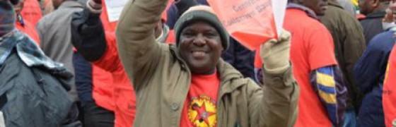 Huelga en el metal de Sudáfrica