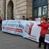 """Concentración silenciosa en Burgos: """"No a la siniestralidad laboral"""""""
