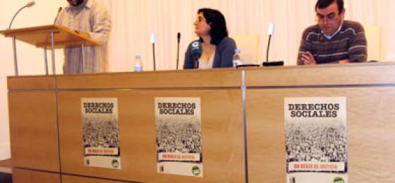 """""""Derechos Sociales, un Deber de Justicia"""", rueda de prensa"""