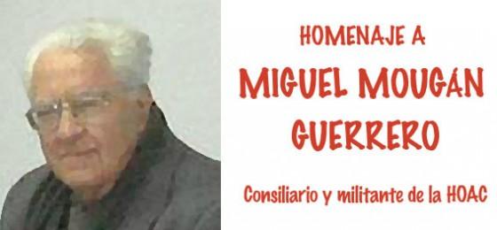 Mañana, homenaje de la HOAC en Santa Cruz al sacerdote Miguel Mougán