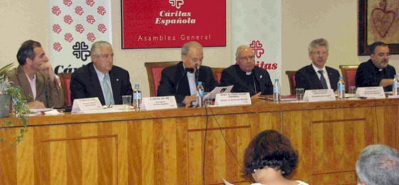 La Asamblea General de Cáritas Española alerta sobre el riesgo de quiebra de la cohesión social
