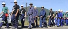 La HOAC y la JOC en apoyo a los mineros