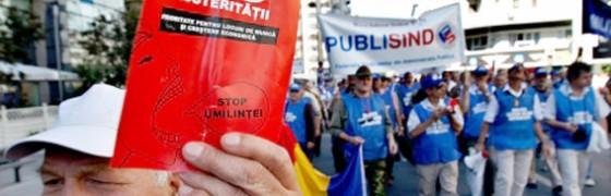 Presiones antidemocráticas sobre el gobierno de Rumanía