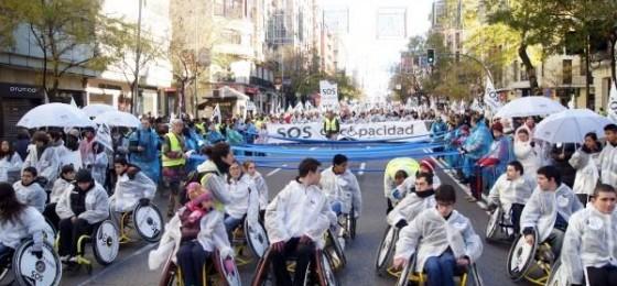Comunicado para el Día de las personas con discapacidad 2012