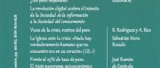 """""""Razón y fe"""" para analizar el drama del paro"""