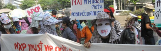 Multinacional electrónica holandesa en Tailandia