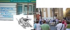 Cádiz: Reunión de familias y personas en paro