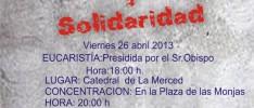 Huelva: Gesto de Denuncia y Solidaridad