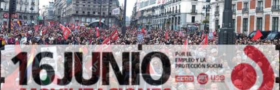 """16J: """"Por una Europa más social y democrática"""""""