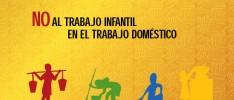 Día mundial contra el trabajo infantil: No al trabajo doméstico de los menores