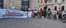 Burgos: Concentración por la muerte de un trabajador