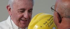 """El Papa en Cerdeña: """"No os dejéis robar la esperanza, luchad por el trabajo"""""""