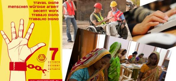 7 de octubre: Día Mundial por el Trabajo Decente