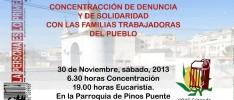 Granada: Solidaridad con las familias víctimas de la crisis en Pinos Puente