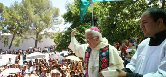 Raúl Vera, obispo de Saltillo: «El poder de la Iglesia es el del amor manifestado en el servicio»
