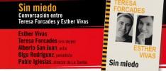 """Madrid: Presentación de """"Sin miedo. Conversación entre Teresa Forcades y Esther Vivas""""'"""