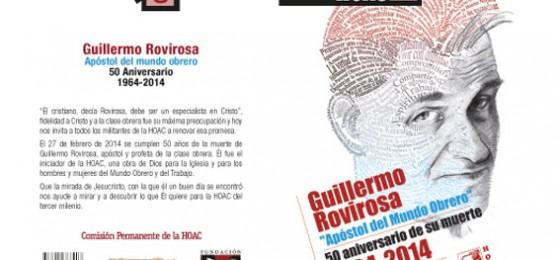 """Nuevo cuaderno HOAC: Guillermo Rovirosa, """"Apóstol del mundo obrero"""""""