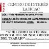Cabra (Córdoba):  Charla sobre Rovirosa