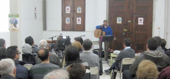 Castellón: Presentación del disco Santa María de los Indignados
