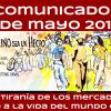 Comunicado del 1º de Mayo