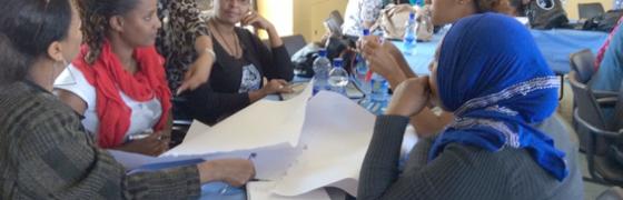 Mujeres sindicalistas de Etiopía