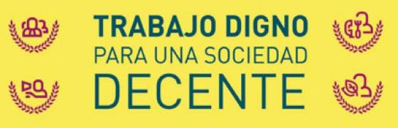 NNOO mayo: Trabajo digno para una sociedad decente