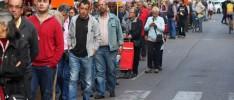 Córdoba: Los vecinos de Valdeolleros se ponen a la cola del paro