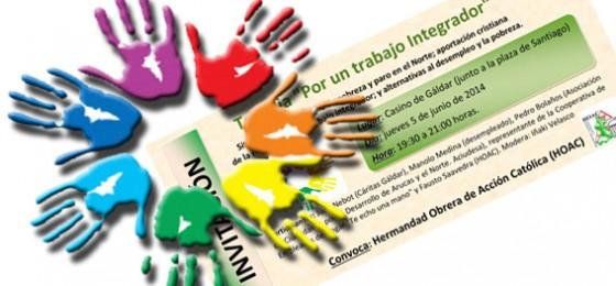 """Canarias: Tertulia """"Por un trabajo Integrador"""""""