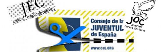 JEC y JOC preocupados por el futuro del Consejo de la Juventud