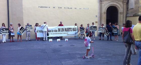 Córdoba: Concentración por los accidentes laborales
