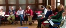 El Grupo de Trabajo de Formación dialoga sobre el contenido de diversos cursillos de la HOAC