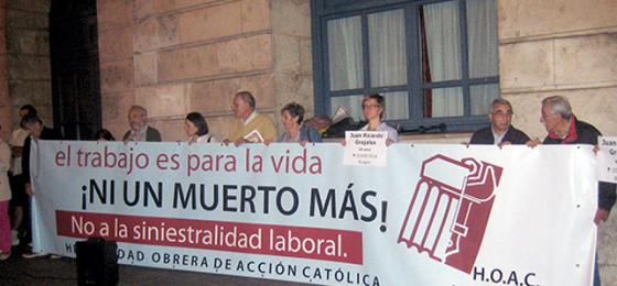 Burgos: En defensa de la vida también en el trabajo