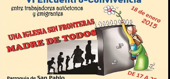 """Madrid: VI Encuentro """"Una Iglesia sin fronteras"""""""