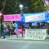 """Jaen: Solidaridad con la """"Acampada Esperanza"""" en contra de los desahucios"""