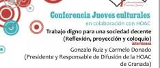 Granada: Trabajo digno para una sociedad decente