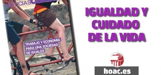 Igualdad y cuidado de la vida #EditorialNNOO