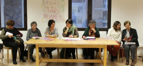 """Barcelona: """"Democracia y dignidad para las mujeres"""""""