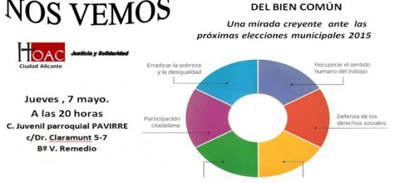 Alicante: Nos vemos para la construcción del bien común