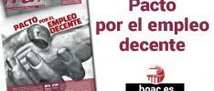 ¡Tú!: Pacto por el empleo decente