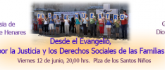 Alcalá de Henares: Desde el Evangelio, por la Justicia y los Derechos Sociales de las Familias