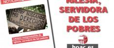 Iglesia, servidora de los pobres #EditorialNNOO