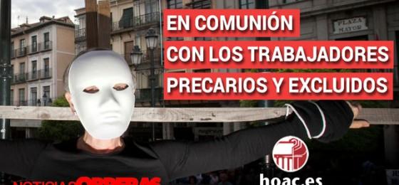 Noticias Obreras: #enla13 En comunión con los trabajadores precarios y excluidos