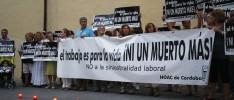 Córdoba: Concentración en oración y denuncia contra la siniestralidad laboral