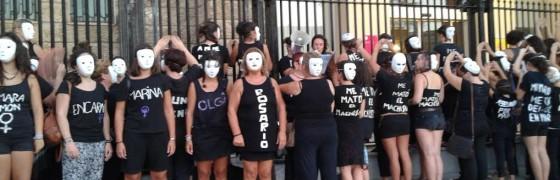 Cádiz: Militantes de la HOAC participan en las movilizaciones contra la violencia machista
