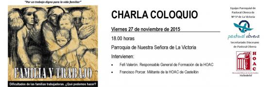Valladolid: ¿Qué hacer ante las dificultades de las familias trabajadoras?