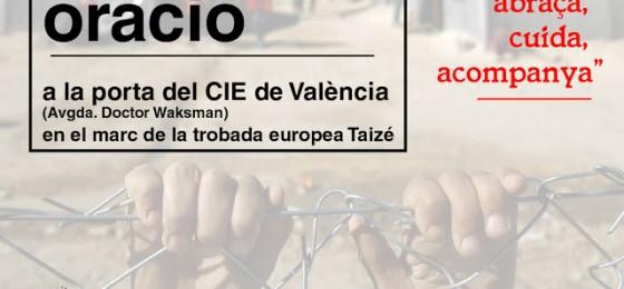 Valencia | Oración en la puerta del Centro de Internamiento de Extranjeros (CIE)